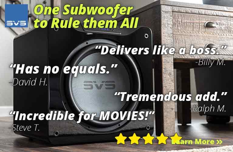 SVS One Subwoofer